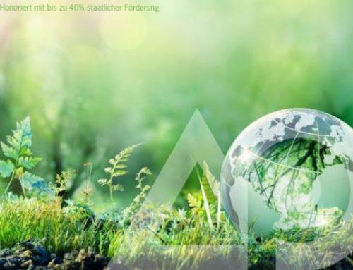 Heatelligence für Nachhaltigkeit und weniger CO2-Emissionen: Honoriert mit bis zu 40% staatlicher Förderung!